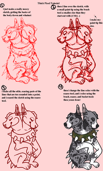 Thick Pixel Tutorial by the-tattoo