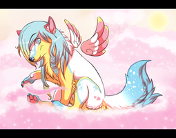 On Cotten Candy Clouds by camychan