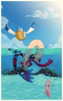 Swim Luvdisc, Swim by SirOpacho