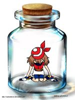 bottle meme 'may in a bottle' by sabsab4ever