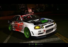 Nissan Skyline R34 by Lopi-42