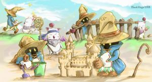 Black Mage Sand Box by catchguess