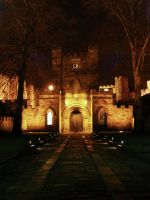 Durham's Castle Gate by photogrifos