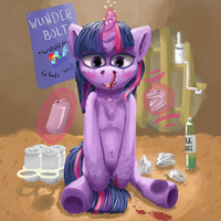 Soda Nose Bleed by Crashbrowns