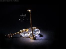 a little. to forget by grace-note