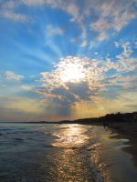 Beach Sunset by Michies-Photographyy