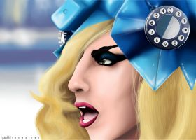 Lady Gaga (PAINT TEST) by TeoMatteo