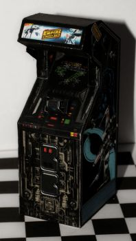 Empire strikes back - Star wars cabinet convert by Wadyface