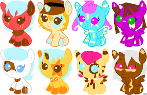 Mlp adoptables 2 by animelover1123