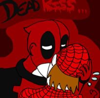 DeadKiss by Ask-Deadpool-Madness