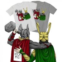 Marvel t-shirt design: Brotherly Love by Phobic42