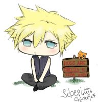 Chibi Cloud by SiberianChinen