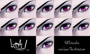 How To Color Eyes in Photoshop by LauriTheArtist