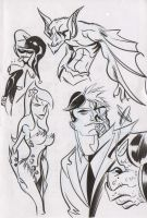 DC Doodles 6 by dfridolfs