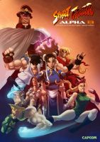 Street fighter alpha 13 by Magnusss