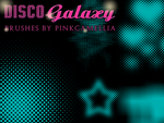Disco Galaxy Brushes by pinkcamellia