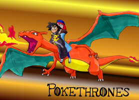 Pokethrones - Dracarys by wafische89