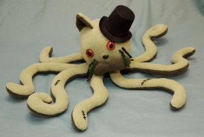 Sir Zombie Tentacat by cutekick