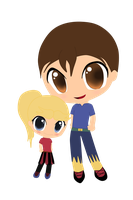 request in chibi/ anime style by twinlightownz