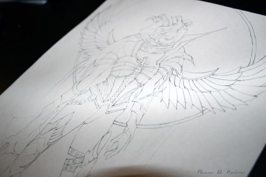 Demon Hunter Work in Progress by NightMustFall