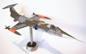 F-104G 1:33 papermodel by M-J-M-A