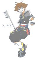 Sketches - Sora by 0Jichan