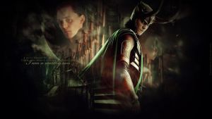 Loki - I am a worthy son by LissVelaskes