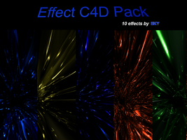 Effect C4D Render Pack 2 by 665AlmostEvil