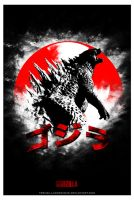 Legendary's Godzilla Custom Poster 3 by TrenzillaXDesigns