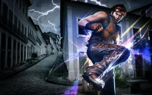 Hwoarang Wallpaper 1440x900 by DynamicDreamer