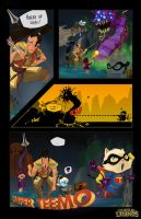 Comic LoLz contest 2012 by Caelys-illustrations