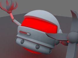 3d project: Robot 2 by Marazzo