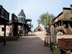 Goldfield Ghost Town Near Tortilla Flats Arizona by donna-j
