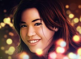 Kristine - Bokeh Lights by Cierseruwal