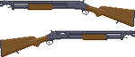 Winchester M1897 Trench by americanhohei