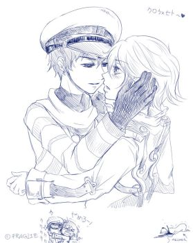 Doddle Crow x Seto by Allisaer