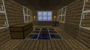 Fishing Shack Interior by Jhumperdink
