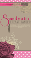 Stand Up for BREAST CANCER by Za3torAh