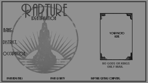 BioShock Rapture Identification Base by redsteal21