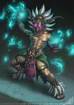 Afuliu Witch Doctor Commission by StriderDen