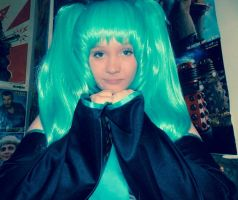 Image. (Hatsune miku cosplay) by spirtofthedevil