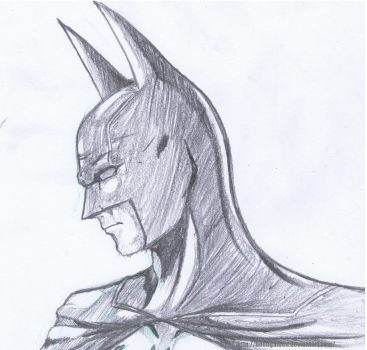 Batman Portrait by HeonGaiden