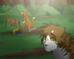 Leafpool's regret by Mana-ghostwolf