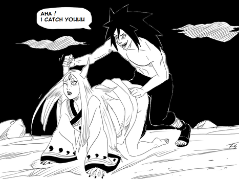 Madara Vs Kaguya by Jira89