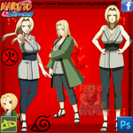 Tsunade Collage by AleMcCaracas