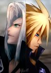 FF VII Fan art: Sephiroth vs Cloud by hainguyen2310