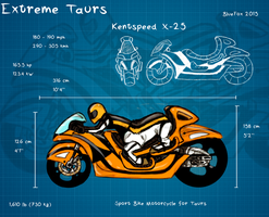 Extreme Taurs: Motorcycle by GreecemisisBiscuit
