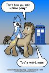 Mordecai Rides the Time Pony by Paulrus-Keaton
