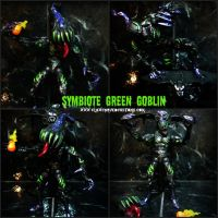 Custom Symbiote Green Goblin by symbiote-x