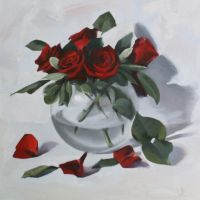 oil painting on canvas by Hussainalbnnay